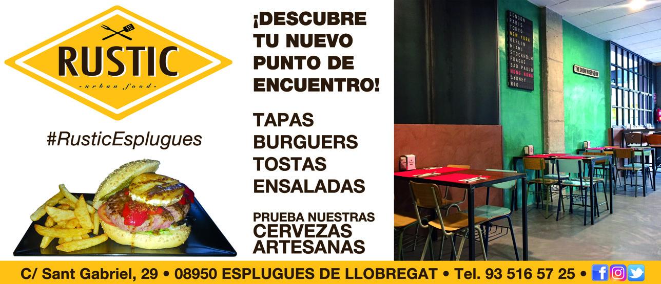 RUSTIC URBAN FOOD – Sponsor Del Cadet A Masculí