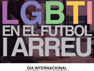 DIA INTERNACIONAL CONTRA L'HOMOFÒBIA EN EL FUTBOL   DÍA INTERNACIONAL CONTRA LA HOMOFOBIA EN EL FÚTBOL
