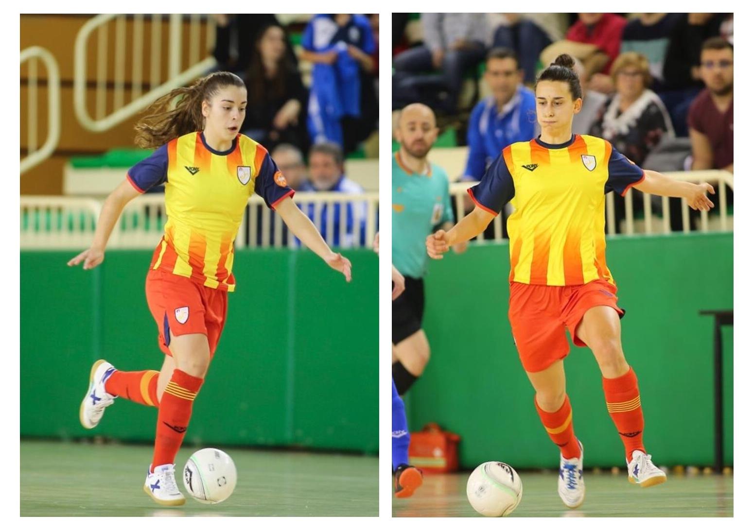 Laura Oliva I Marta De Los Riscos, A La Fase Final Del Campionat D'Espanya Sub21 Amb La Selecció Catalana