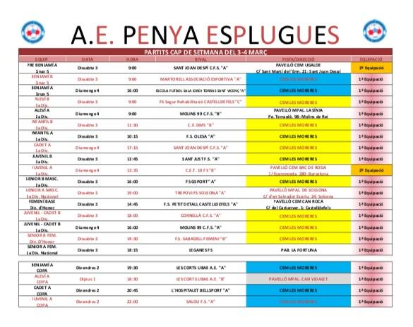 Agenda Del Cap De Setmana | Agenda Del Fin De Semana 3-4/3/2018