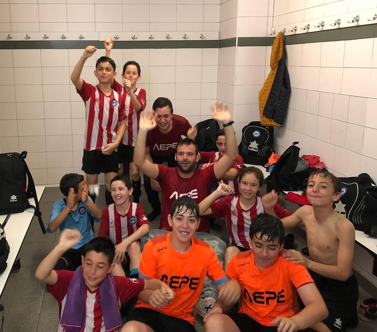 L'Aleví A Campió Del Grup 4 De Segona Divisió!