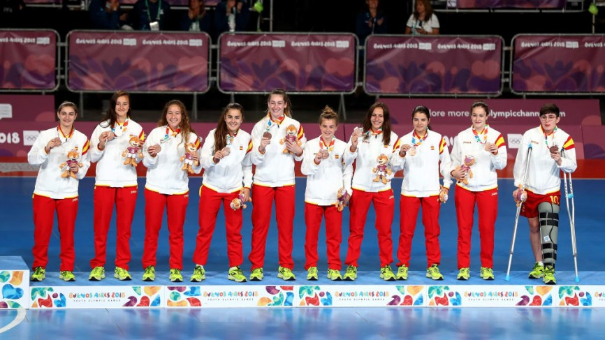 El bronze és per Espanya || El bronce es para España