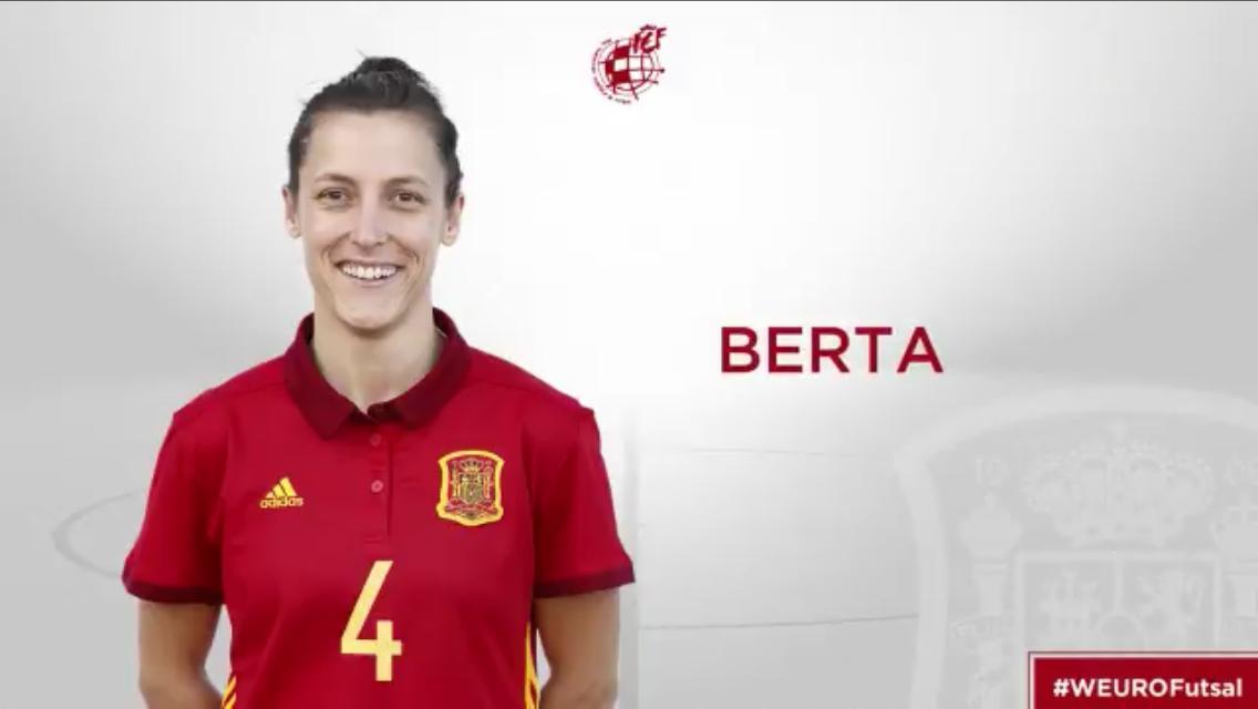 Berta Serà A L'Eurocopa! || ¡Berta Estará En La Eurocopa!