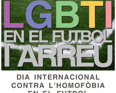 L'A.E. Penya Esplugues Es Suma Al Dia Internacional Contra L'Homofòbia En El Futbol.    El A.E. Penya Esplugues Se Suma Al Día Internacional Contra La Homofobia En El Fútbol.