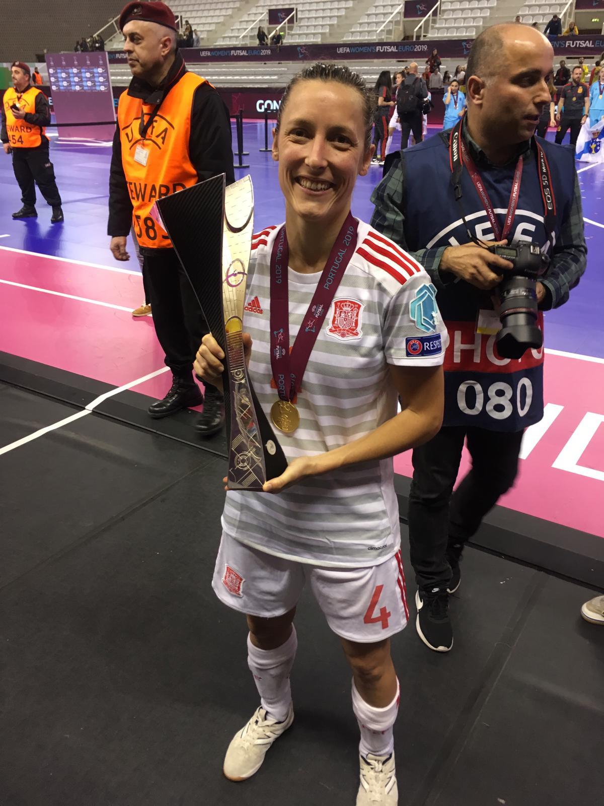 Berta Velasco Copa D'Europa