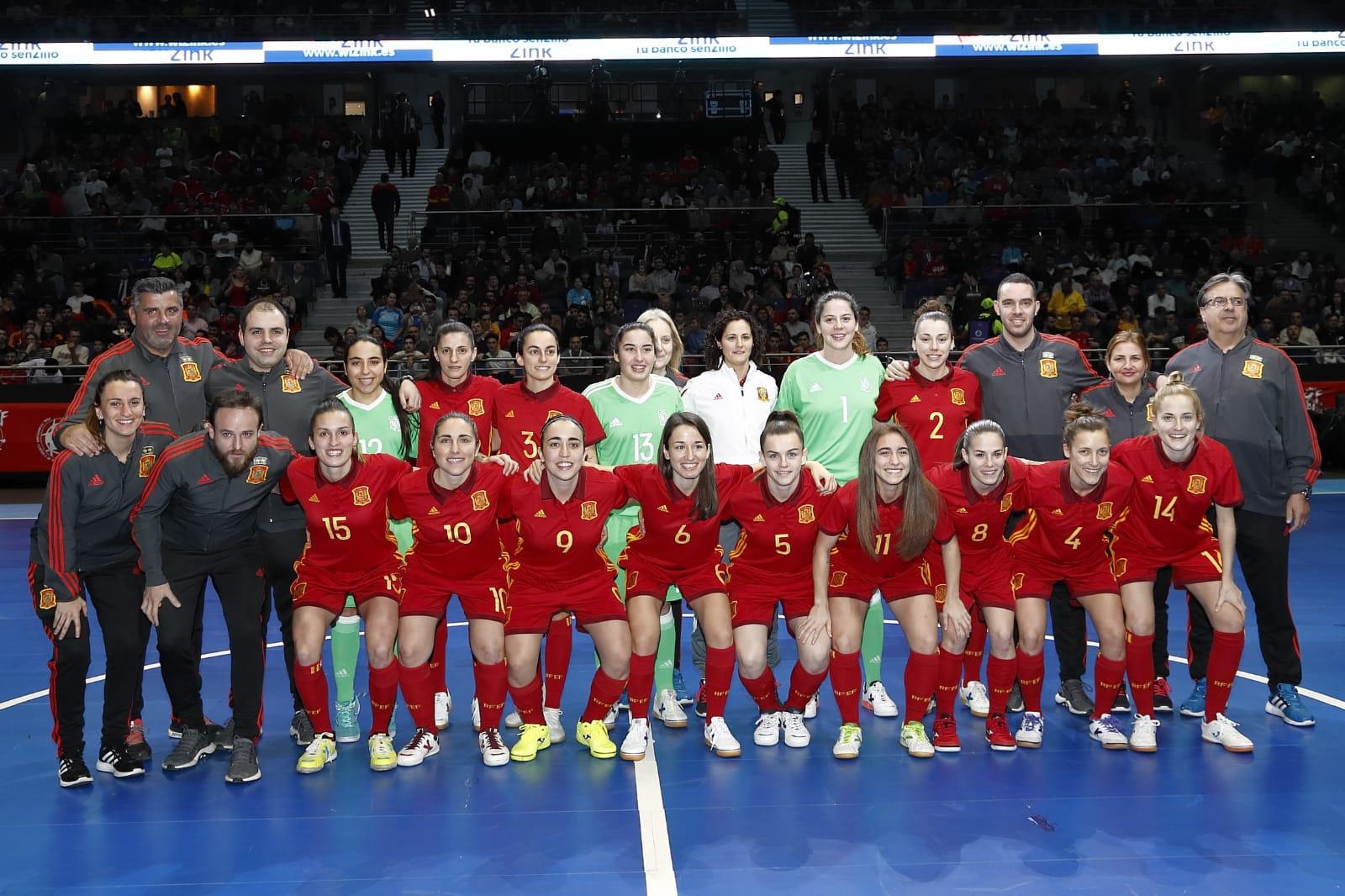 Selección Española Femenina Fútbol Sala