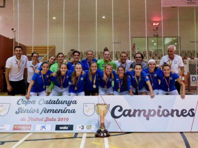 Crònica Del Sènior Femení Copa De Catalunya || Crónica Del Sénior Femenino Copa De Catalunya