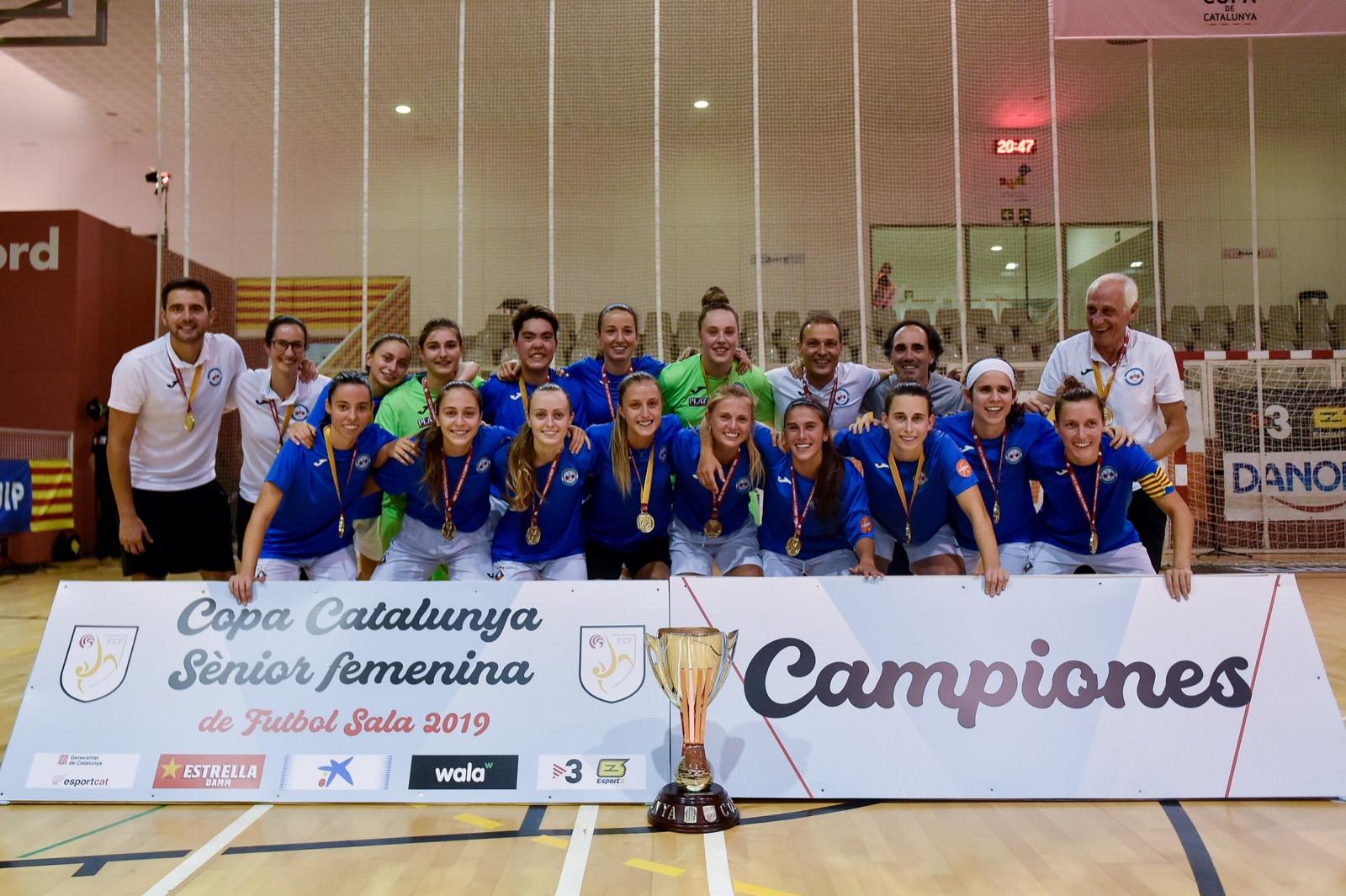20190911 Copa Catalunya Senior Femenina Futbol Sala