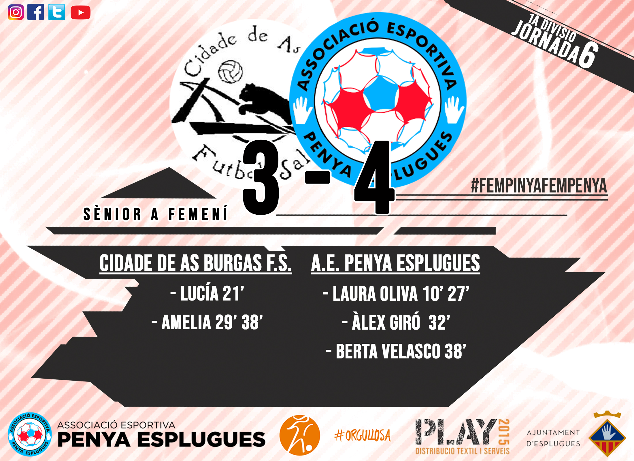 CR 6A JORNADA FEM Cat