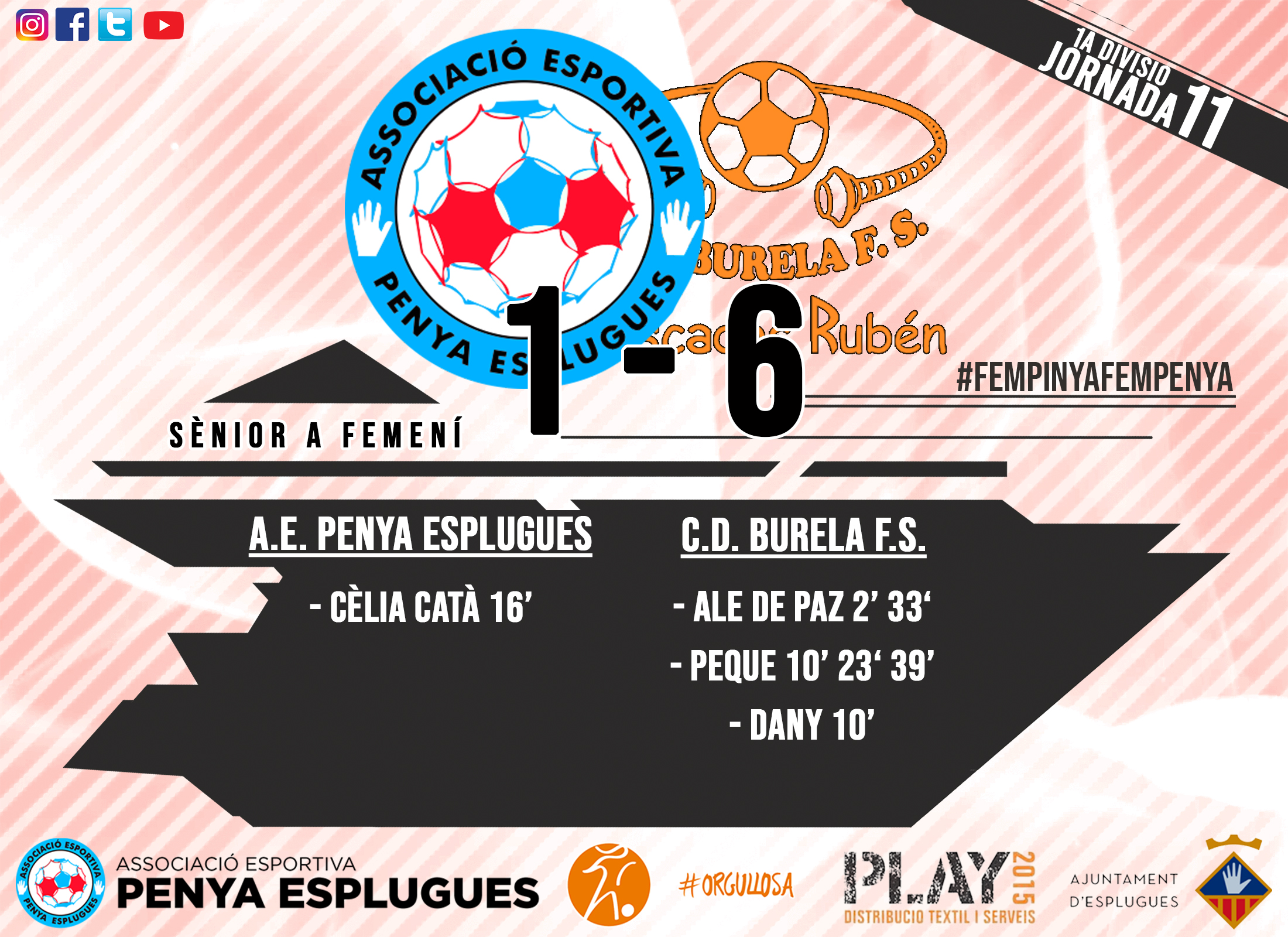 CR 11A JORNADA FEM CAT