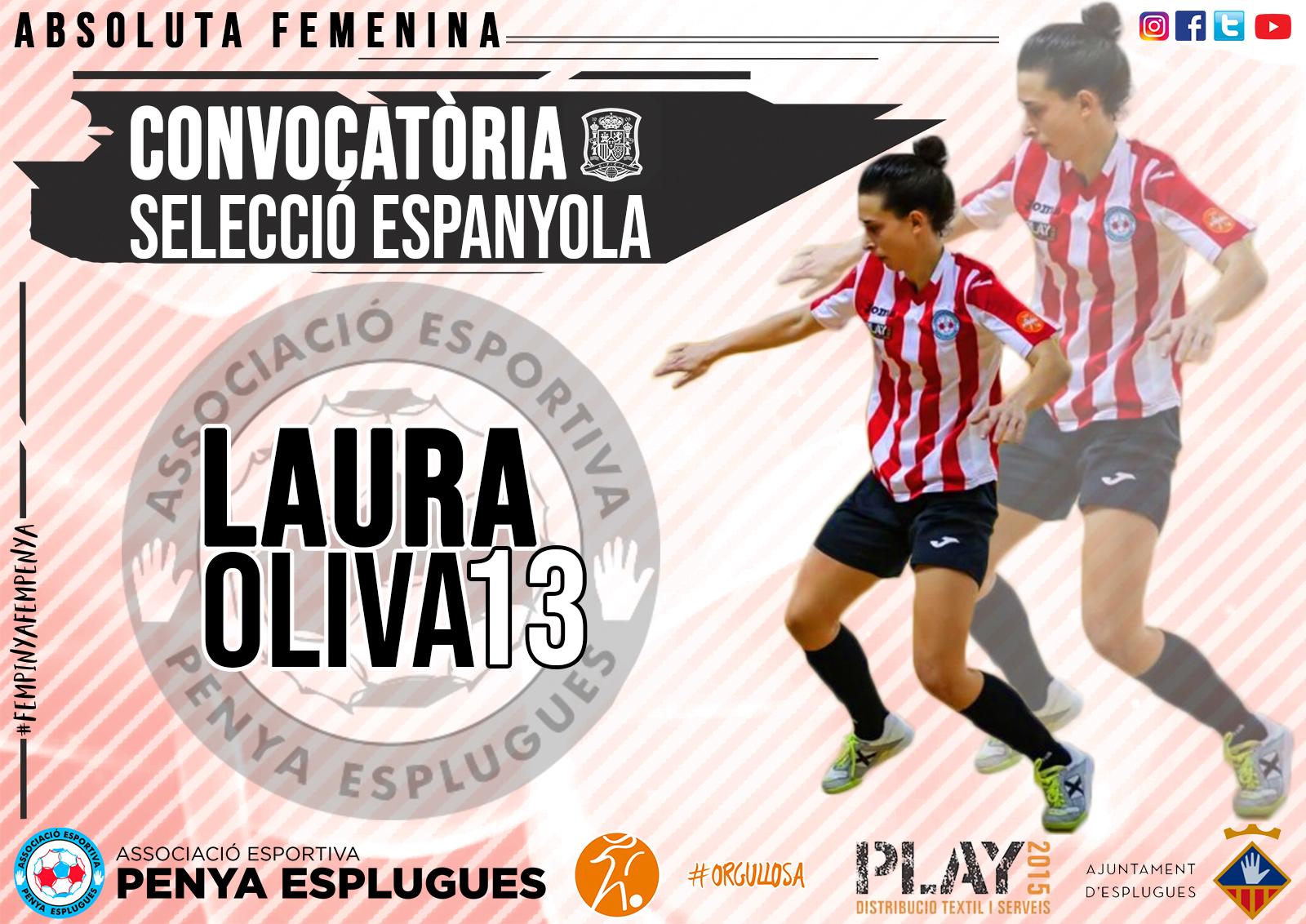 CONVOCATÒRIA SEL.ESPANYOLA. Laura Oliva Cat