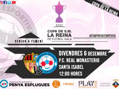 Prèvia Setzens De Final De La Copa De La Reina || Previa Dieciseisavos De Final De La Copa De La Reina