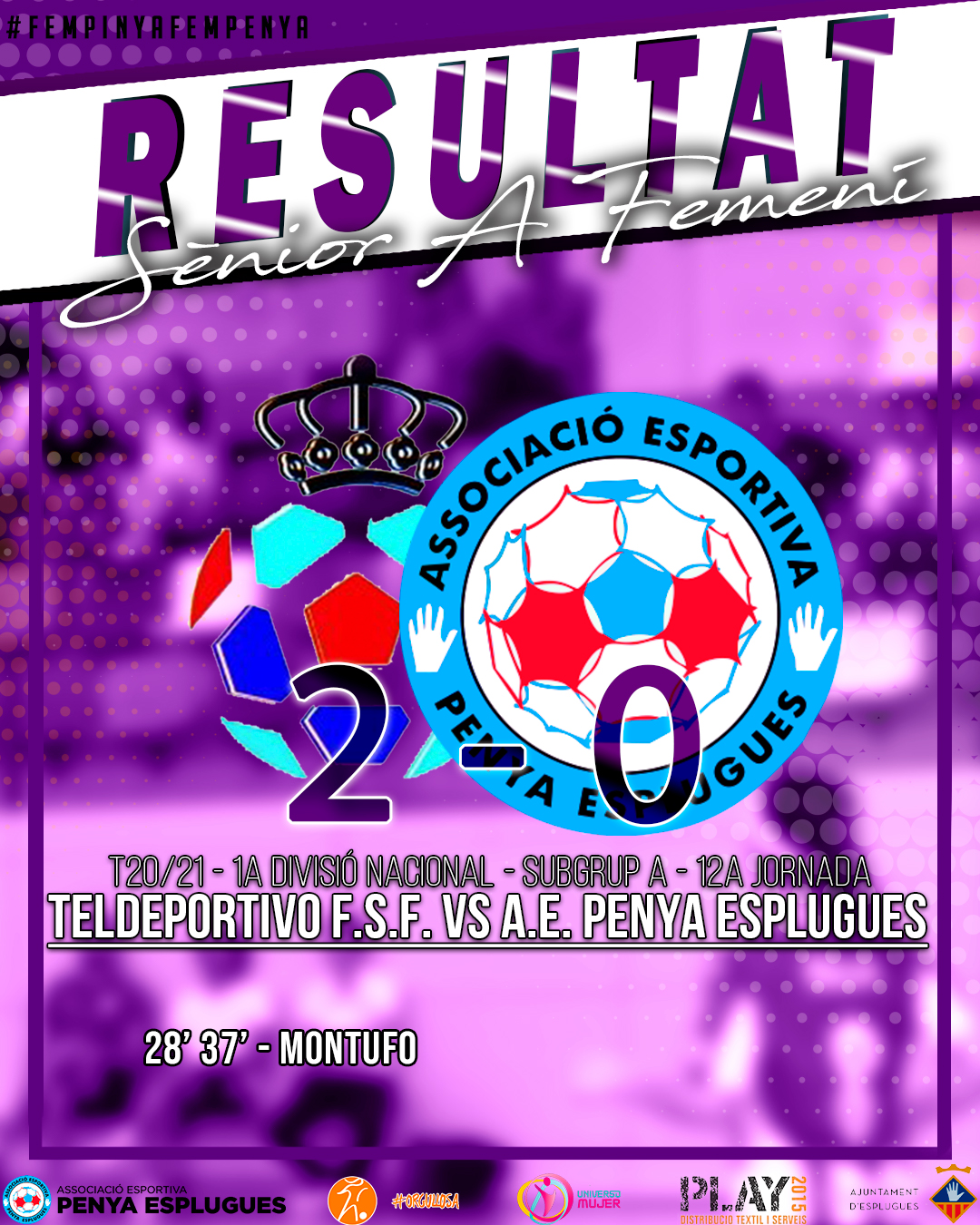 Teldeportivo – AEPE 12A J Cat